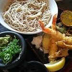 わらべ - 料理写真:天ざるそば