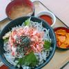岬 丘の上食堂 - 料理写真:桜エビと釜あげしらすの丼