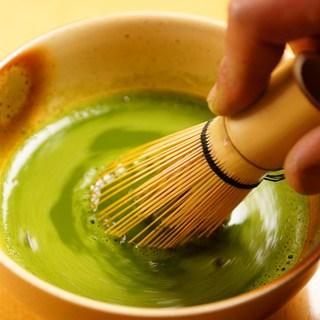 【演出】抹茶好きにはたまらないドリンクご用意!抹茶点てます☆