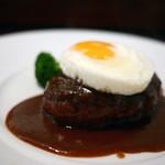 グリルフレンチ - 料理写真:ハンバーグ