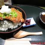 金の穂銀の水 - チキンカツ丼 \650