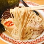 駅前豚骨ラーメン ニネンヤ - 麺リフト