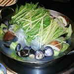 湯島 神威 - シジミレタス鍋