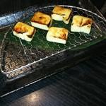 湯島 神威 - チーズの味噌漬け