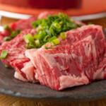 大山ホルモン - 柔らかくジューシー、濃厚な味わいを満喫する『和牛ハラミ』