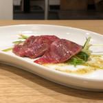 焼肉とんび - 黒毛和牛のカルパッチョ(ハーフ)