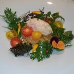 86313307 - カニとトマトの菜園風サラダ