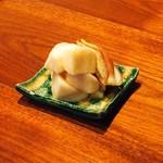 86313631 - 白蕪とみょうがの柚味噌漬け  750円