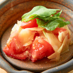 ガリトマトサラダ