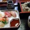 Sushinoyasusan - 料理写真:生寿司と蕎麦のセット