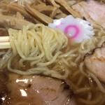 永福町大勝軒 - 中華麺1130円税込の麺