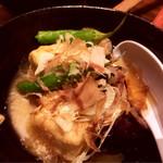 亀屋鶴八 - 京豆腐と茄子の揚げ出し