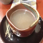 藤緒 - あまだいと鱧のお出汁