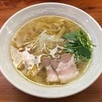純手打ち 麺と未来 - 「塩らーめん」780円