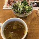 ベルサイユの豚 - サラダとスープ