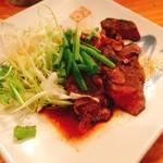 一品料理 ひとしな - 鹿肉(焼き)