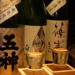 ドラム缶焼肉 ほへと - 奈良の日本酒