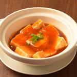 逸品飲茶縁茗 - 豆腐の蟹あん煮込み