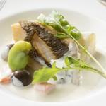 鉄板焼・愛宕 - 季節のお魚料理