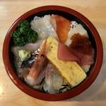 江戸金寿し - ランチちらし寿司です。