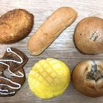 松栄堂 - 料理写真:今回買った普通のパンたち