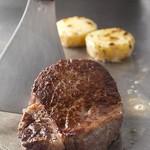 鉄板焼・愛宕 - 黒毛和牛ステーキ