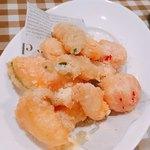 グッドミート・バル - 季節野菜のチーズフリット  518円