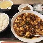 謝朋酒樓 - ランチメニュー  本場成都のマーボー豆腐
