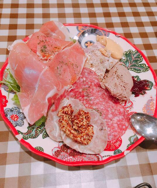 グッドミート・バル - お肉の前菜盛り合わせ  950円
