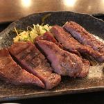 圭助 - 牛タン焼き定食 1480円。