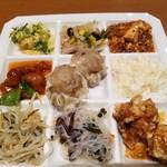 四川飯店 - おかずいろいろ