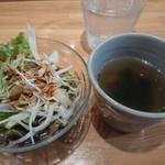 ハルダイニング - サラダとスープ