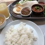 JICA札幌 レストランカフェ・地球こうさてん - 料理写真:地球ランチ 850円