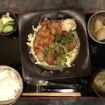 86346717 - 豚肩ロースの生姜焼き定食1000円