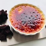 カフェ ローブ - クレームブリュレ・アーモンドチョコレート