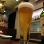 チャーコールダイニングキズナ - ビール