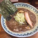 麺屋蕪村 - かなり茶色い鶏白湯
