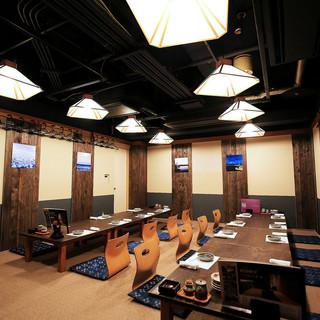 【海】お座敷宴会個室