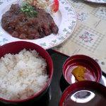 ミルポア - カルビステーキ定食(1350円)