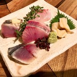 蕎麦・酒・料理 壱 - お造り5種2人前 1800円