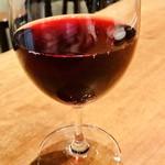 魚deバール ウオチカ。 - トラウベンモスト(RED) ワイン醸造用の葡萄の果実を搾りたてストレートjuiceにした贅沢ドリンク☆