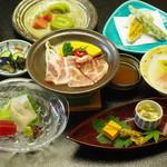 アピカルイン京都 - 癒味家御膳3,480円(税込)