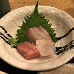 串焼き・魚 新宿宮川 - セレクトした本日の刺身