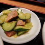 横浜中華街 景珍樓 - 小皿