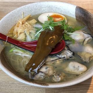 ランチ限定!貝を贅沢に使用したラーメンは680円~ご用意