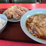 幸楽 - 鶏のからあげセット     ¥880