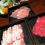 8636167 - 三種の肉