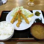 86362138 - エビフライ定食(950円)
