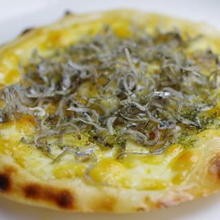 ピザにじゃこ=和風?!新たな味を発見出来る数奇な美食体験♪