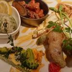 Rojoc - 前菜5種盛